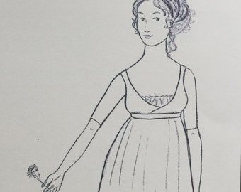 Regency Gown Pattern - Queen Louise of Prussia