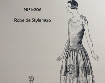 Robe de Style - a 1920s flapper dress pattern