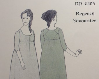 1800 Regency Gown Pattern