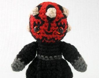 Darth Maul - Star Wars Mini Amigurumi Pattern PDF - Crochet Pattern