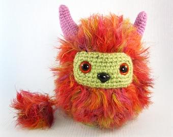 Fuzzy Troll Amigurumi Pattern