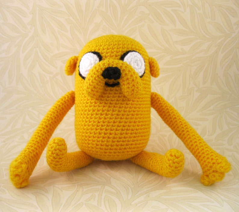 Amigurumi Adventure Time Jake : 4 Steps (with Pictures) - Instructables | 705x794