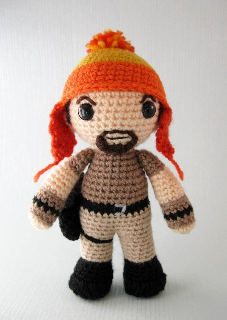 27b11e7b367 Jayne Cobb Firefly Amigurumi Pattern PDF Crochet Pattern