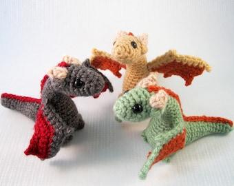 Young Dragons Amigurumi Pattern PDF - Crochet Pattern
