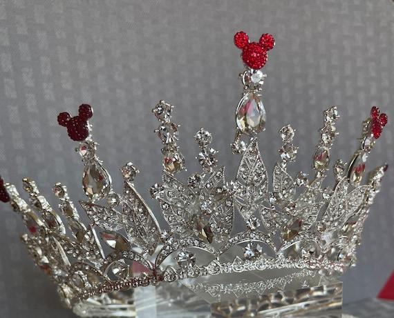 Disney Inspired Crown-Wedding Crown-Full Circle Crown-Disney Cruise-Bridal Shower Gift-Disney Dapper Days