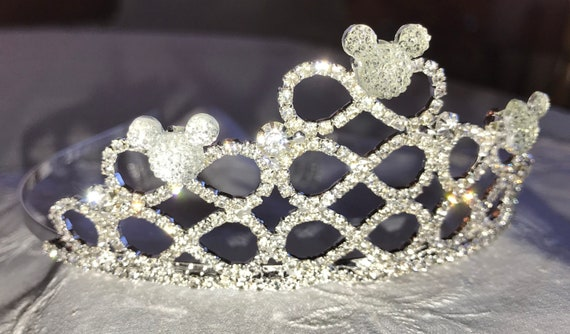 Disney Themed Wedding-Infinity Tiara-Hidden Mickey Inspired-Bride To Be Shower Gift
