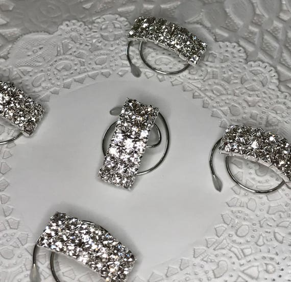 Wedding Hair Jewelry-Ballroom Dancer-Bridesmaid-Bride Hair Swirls-Hair Spins-Silver Tone Spirals Coils Hair Twists