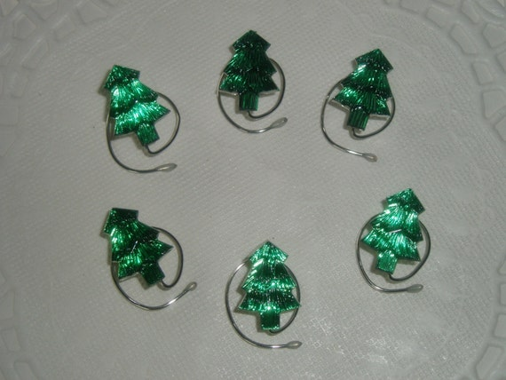 Christmas Tree Hair Swirls for that Special Party Hair Jewelry Spins Spirals Coils