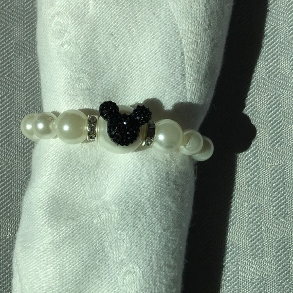 Mickey Mouse Napkin Rings-Rehearsal Dinner Favor-Wedding Reception Head Table