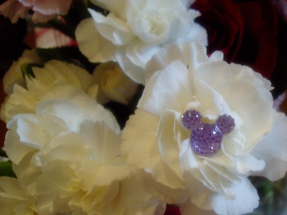 6 Hidden Mouse Ears in your Bouquets Disney Inspired Wedding