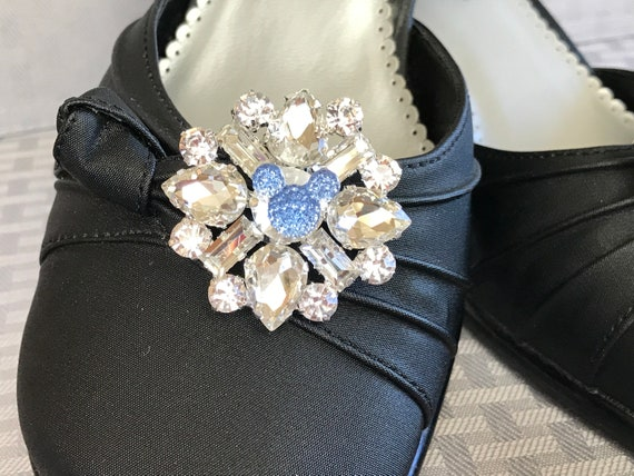 Disney Inspired Wedding Shoe Clips-Cinderella Blue-Bachelorette  Party-Engagement Party Shoes-Going Away Outfit-Shower Gift