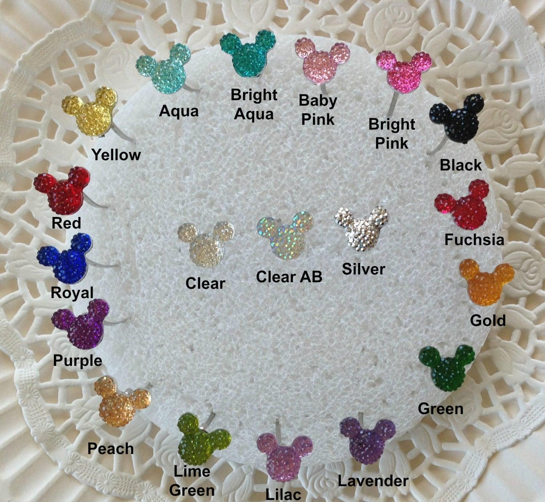 Disney Wedding Flower Pin 6 Hidden Mickey Mouse Ears Bouquets ...