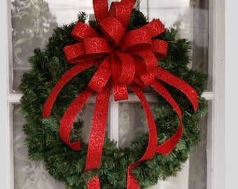 large elegant christmas wreath bow christmas wreath bow glitter swirls wreath bow christmas bows for wreaths christmas tree bow