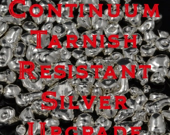 Upgrade to tarnish resistant sterling silver- Continuum Sterling Silver Upgrade- Tarnish Resistant Silver Rings
