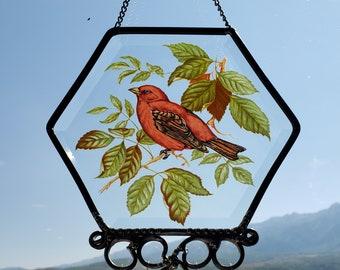 Red Bird Suncatcher/Wind Chime
