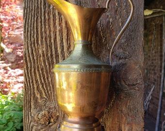 Copper & Brass Water Urn Wind Chime