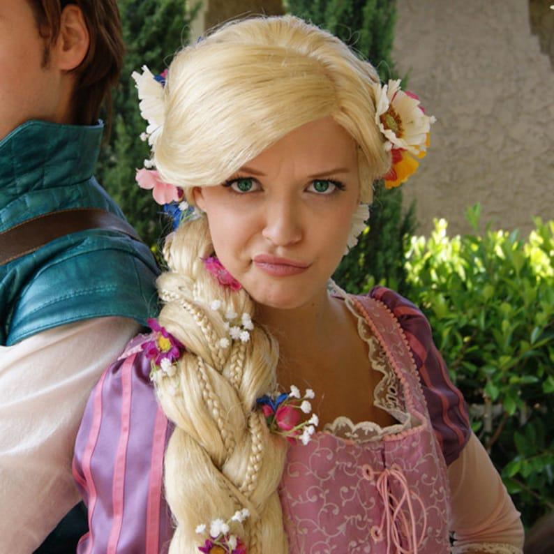SALE Rapunzel Tangled Inspired Adult Costume Wig A True  3df2877f73