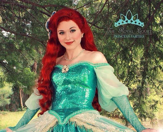 sc 1 st  Etsy & The Little Mermaid Ariel Adult Costume Wig in Broadway Musical