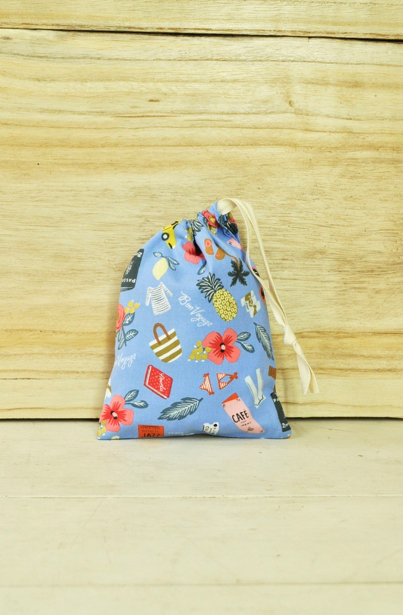 Small Drawstring Pouch  Reusable Gift Bag  Rifle Paper Co. image 0