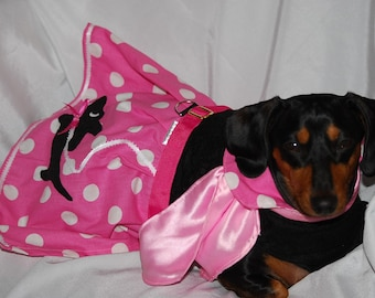 The Pink Doxie Skirt