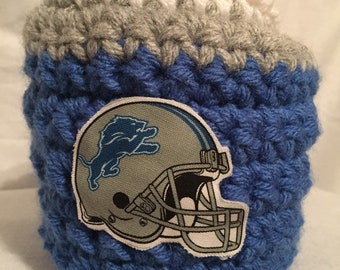 Detroit Lions drink mitt- The mitten with the drink holder  Great for tailgating and those cold weather games