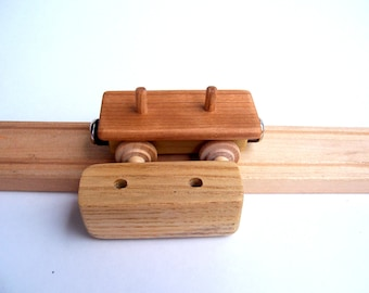 Flatcar with Removable Box