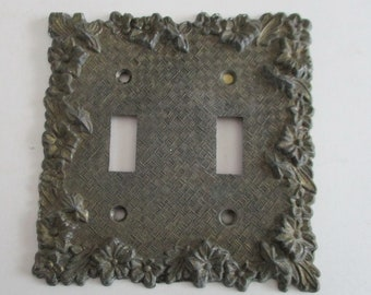 Victorian outlet and light switch cover molds set of 2 reusable