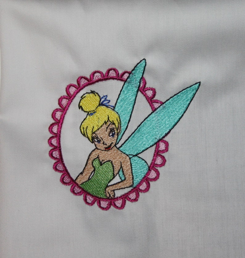 Fairy Machine Embroidered Quilt Blocks Set B