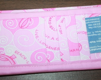 Breast Cancer Flat Wallet