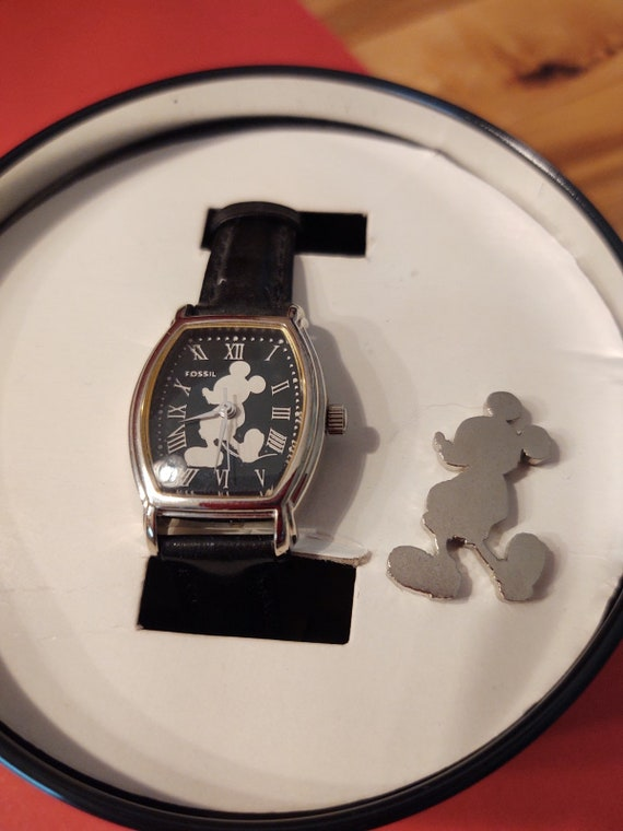 Mickey Mouse, Silhouette Watch, Mikey Tin, Mickey
