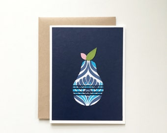 Pear card - Spring Cleaning Sale