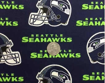 BTY Seattle Seahawks Licensed NFL Football Helmet Cotton Fabric 680e7ba69