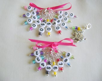 Count Your Stitches/Rows Stitch Markers for Knitting or Crochet