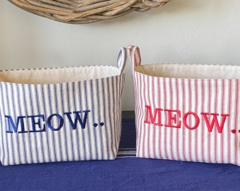 Toy or Treat Baskets for Cats and Dogs