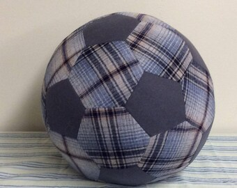 Fabric Soccer Ball 12-inch- Wool