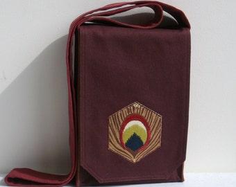 Chocolate Brown Small Messenger Bag