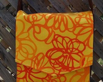 Citrus Zest Messenger Bag