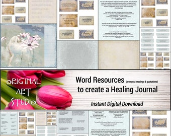 Word Resources to Create a Healing Journal