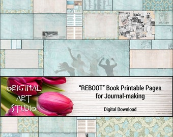 REBOOT Book Printable Pages for Journal-making