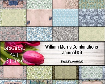 William Morris Combinations Journal Kit
