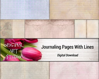 Journaling Pages With Lines