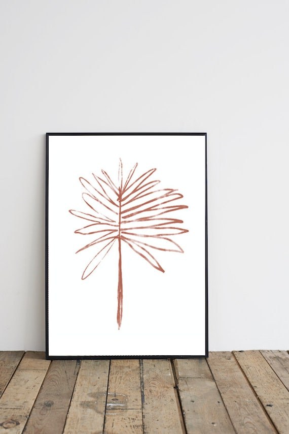 Terracotta #02 //  Mid Century Poster, 12x18, minimalist art print, Pastel colors, abstract, art,