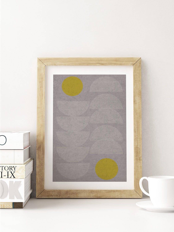 QUEUE LEU LEU // Poster, Abstract art, 12x18, minimalist art print ...