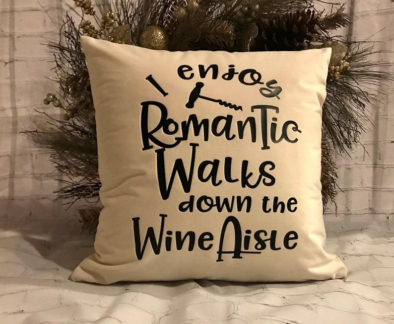 Romantic Walks Down The Wine Aisle
