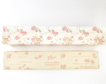 Vintage Drawer Liner Scented Sheet Decorative Angel Design Shabby Chic Polyfab Floral Box