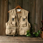 Vintage Fishing Vest Sports Vest Small Womens Or Youth Columbia Sportsware Vintage From Nowvintage on Etsy