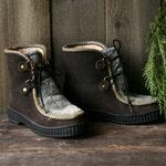 Vintage Snow Boots Man Made Fiber Vegan Boots Waterproof Vintage From Nowvintage on Etsy