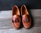 Ähnliche Artikel wie Vintage Herren Schuhe Slipper Mokassin