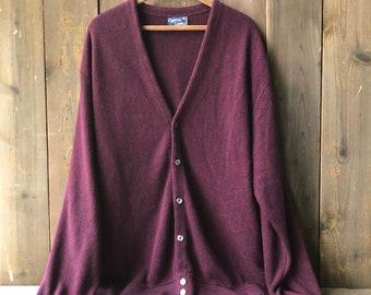 70s Cardigan Grandpa Leisure Sweater