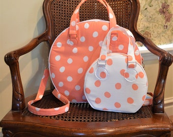 Audrey's Travel Bag PDF Pattern Combo ... NEW ... Includes Audrey's Weekender Bag & Audrey's Cosmetic Bag